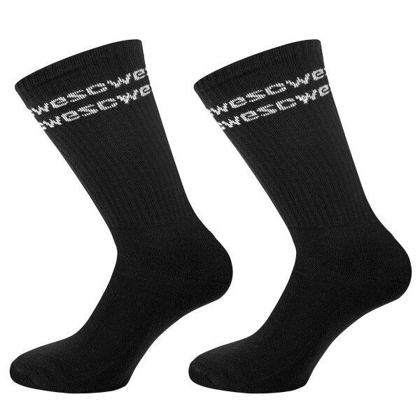 WESC 2 pakkaus Rays WeSC Tube Socks - Black * Kampanja *