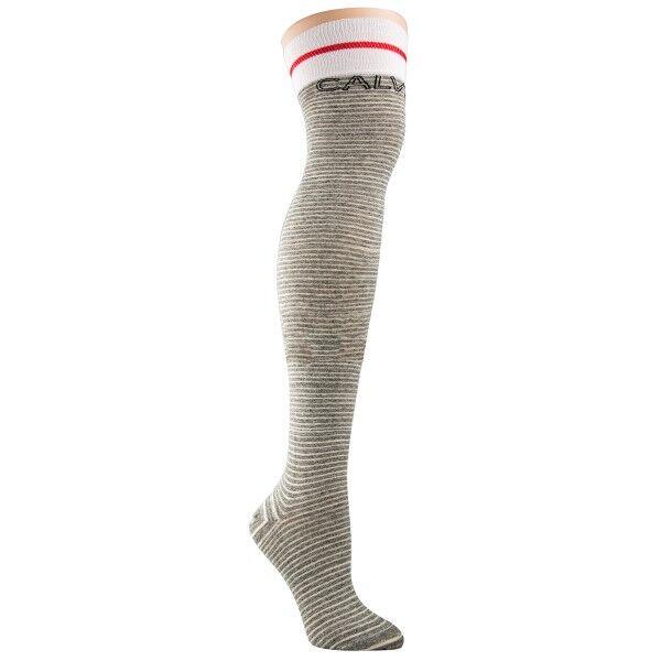 Calvin Klein Modern Cotton Logo Tube Kyra Socks - Grey