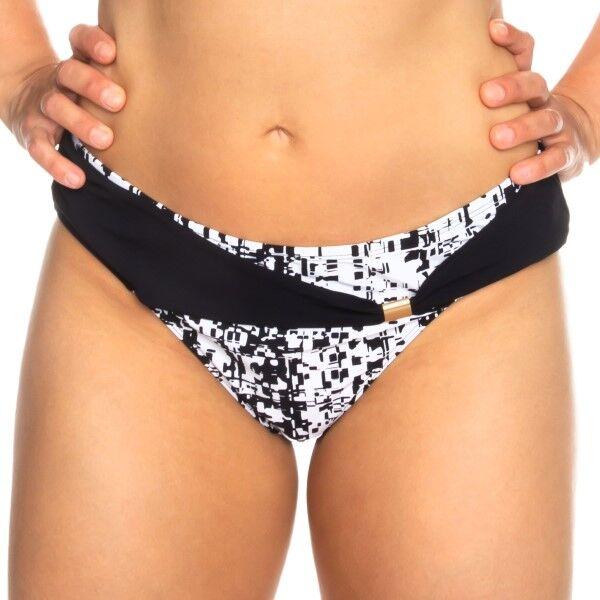 Femilet Honduras Bikini Tai Brief - Black/White