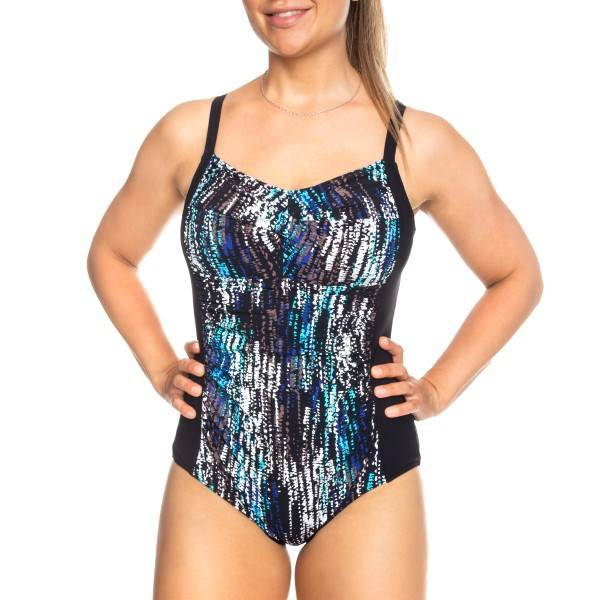 Femilet Honduras Swimsuit - Black pattern-2 * Kampanja *
