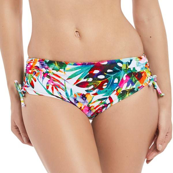 Fantasie Margarita Island Adjustable Leg Short - White Pattern-2 * Kampanja *