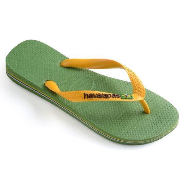 Havaianas Brasil Logo - Green * Kampanja *