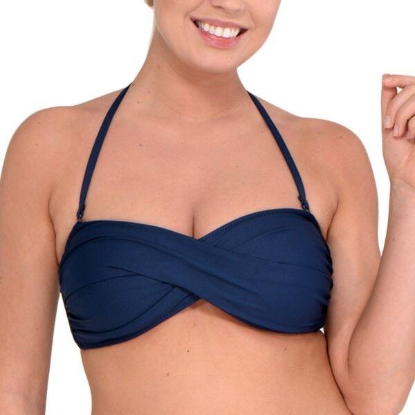 Saltabad Beatrice Bikini Bra - Navy-2