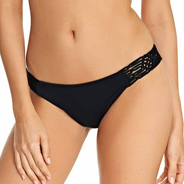 Freya Macrame Bikini Rio Brief - Black
