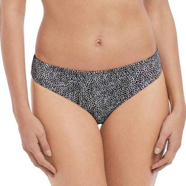 Freya Run Wild Bikini Brief - Black pattern-2