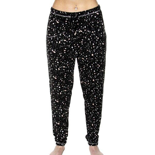 Femilet Lima Pants - Black pattern-2
