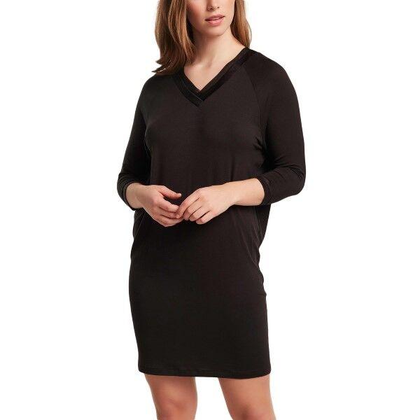 Femilet Eloise Big Shirt 3-4 Sleeve - Black