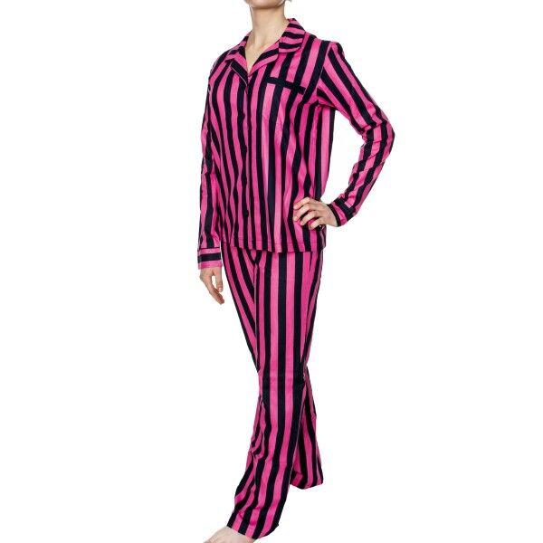 Rayville Debbie Pyjamas Line Stripe - Pink/Blue