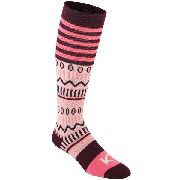 Kari Traa Åkle Sock - Pink Pattern