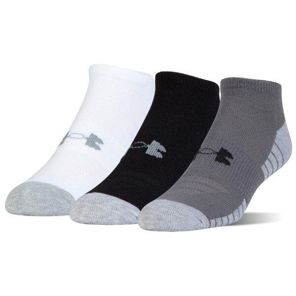 Under Armour 3 pakkaus HeatGear Tech No Show Socks - Mixed