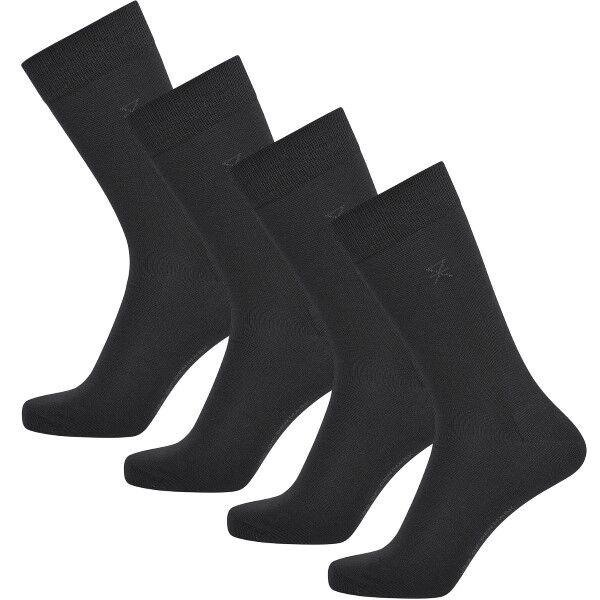 JBS of Denmark 4 pakkaus Organic Cotton Socks - Black