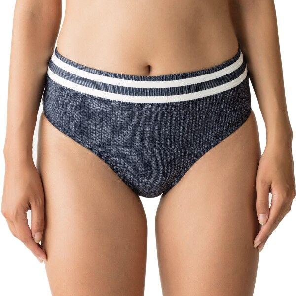 Primadonna California Bikini Full Briefs - White/Navy