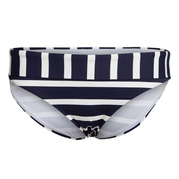 Femilet Indiana Bikini Tai Brief - White/Navy