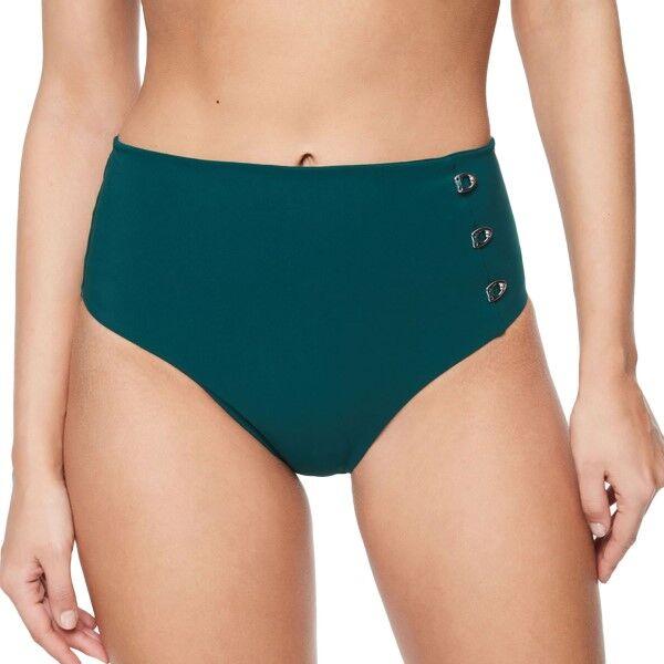 Chantelle Eden High Bikini Brief - Darkgreen