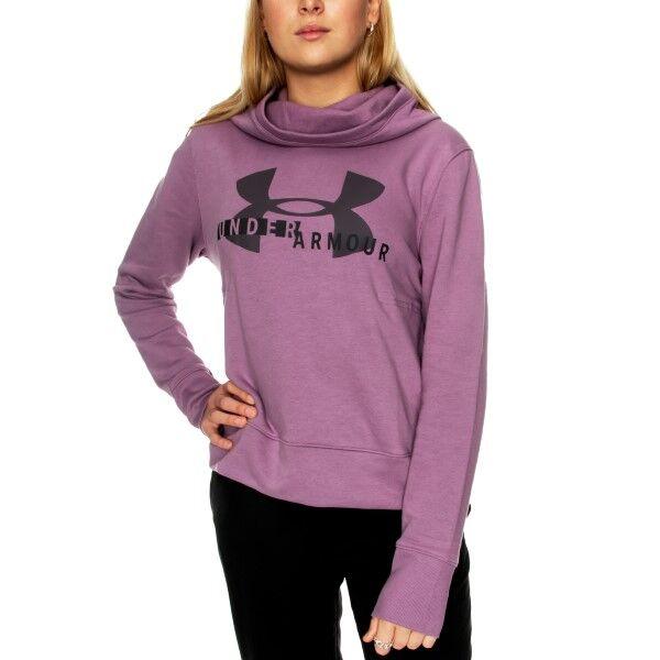 Under Armour Rival Fleece Logo Hoodie 1321 - Light lilac