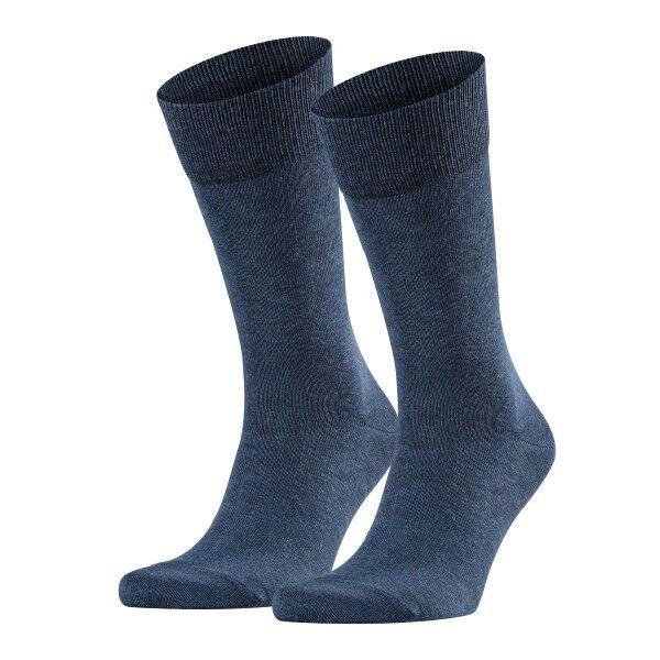 Falke 2 pakkaus Happy Socks - Darkblue