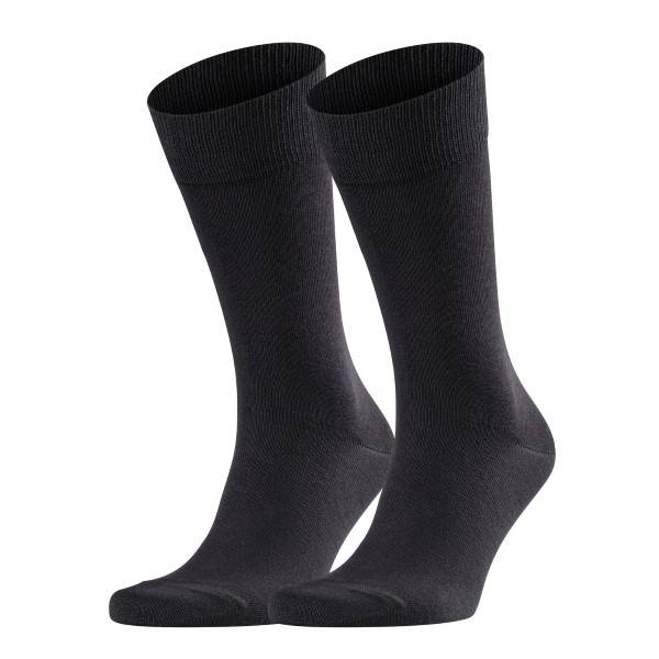 Falke 2 pakkaus Happy Socks - Black