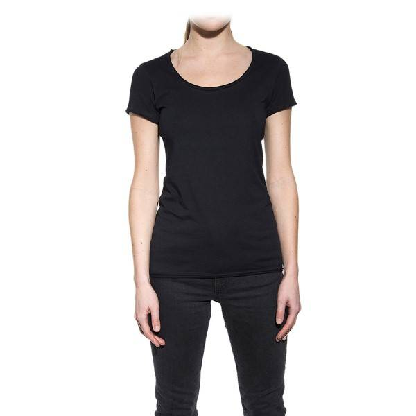 Bread & Boxers Bread and Boxers Crew Neck Relaxed Woman - Black