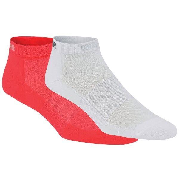 Kari Traa 2 pakkaus Skare Sock - Coral/White