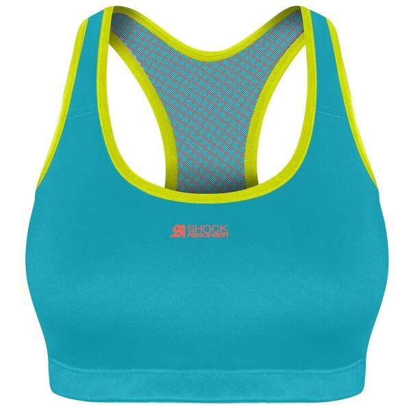 Shock Absorber Active Crop Top - Turquoise * Kampanja *  - Size: 04NO - Color: Turkoosi