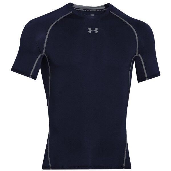 Under Armour HeatGear SS Compression Shirt - Darkblue * Kampanja *