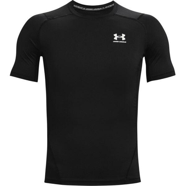 Under Armour HeatGear SS Compression Shirt - Black
