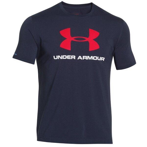 Under Armour Charged Cotton Sportstyle Logo - Navy-2 * Kampanja *