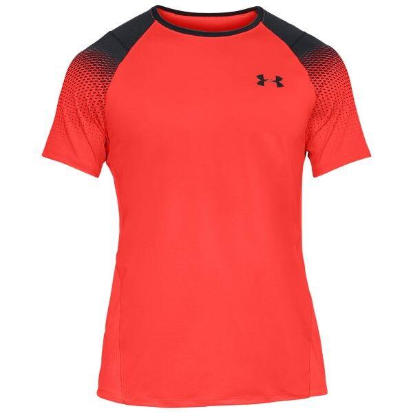 Under Armour Raid 2.0 Dash Print SS Shirt - Coral * Kampanja *  - Size: 1323416 - Color: Koralli