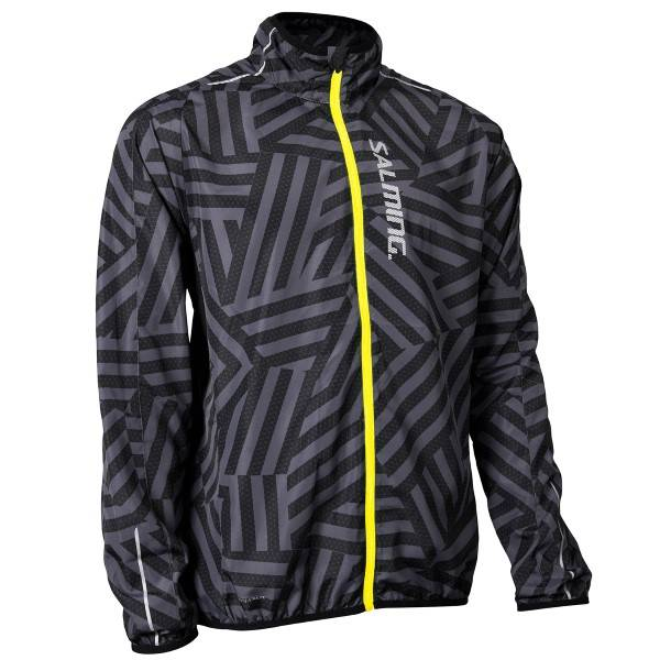 Salming Ultralite Jacket 2.0 Men - Black  - Size: 1278649 - Color: musta