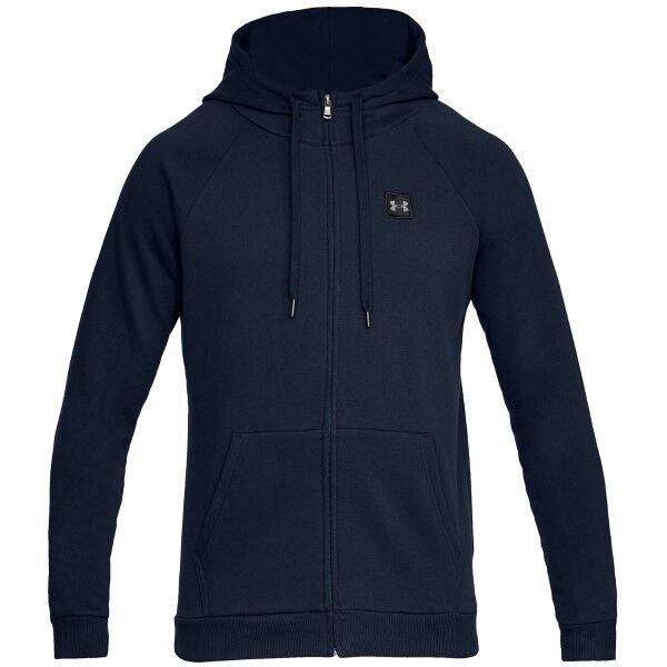 Under Armour Rival Fleece Full-Zip - Darkblue * Kampanja *  - Size: 1320737 - Color: tummansin.