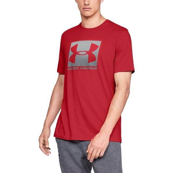 Under Armour Boxed Sportstyle Short Sleeve T-shirt - Red  - Size: 1329581 - Color: punainen