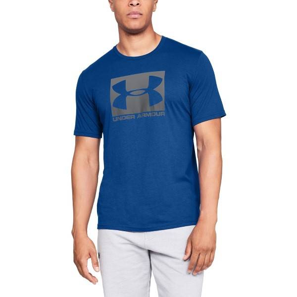 Under Armour Boxed Sportstyle Short Sleeve T-shirt - Blue  - Size: 1329581 - Color: sininen