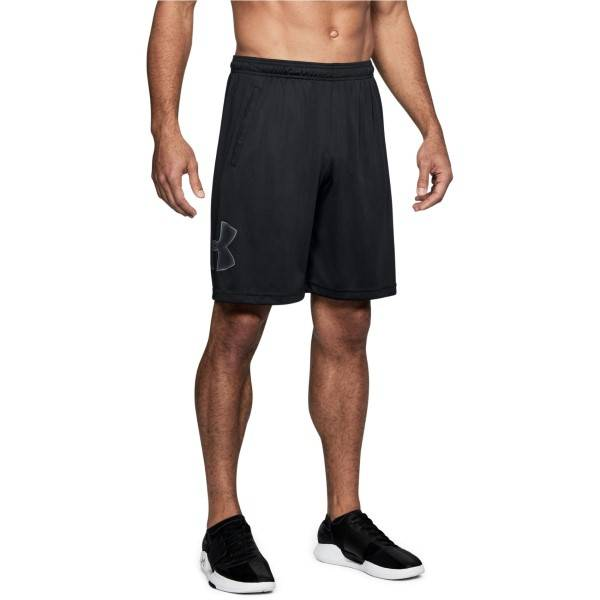 Under Armour Tech Graphic Shorts - Black-2  - Size: 1306443 - Color: Pikimusta