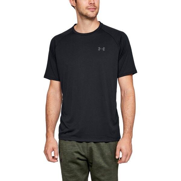 Under Armour Tech 2.0 T-Shirt - Black  - Size: 1326413 - Color: musta