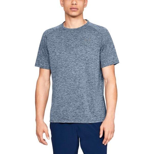 Under Armour Tech 2.0 T-Shirt - Blue  - Size: 1326413 - Color: sininen