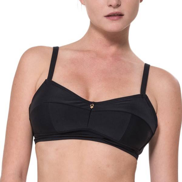 Abecita Alanya New Kanters Soft Bra - Black  - Size: 474191 - Color: musta