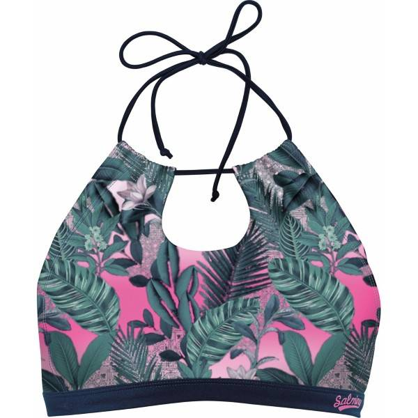Salming Tropic Garden Bikini Top - Mixed  - Size: 898028 - Color: Multi-colour
