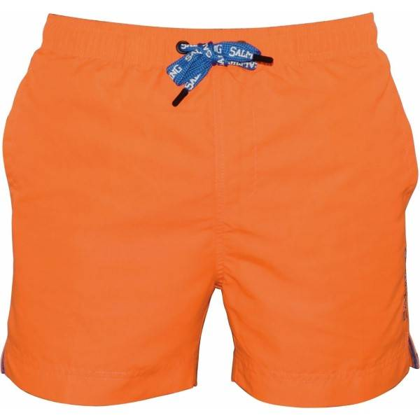 Salming Nelson Original Swim Shorts - Orange  - Size: 861143 - Color: oranssi