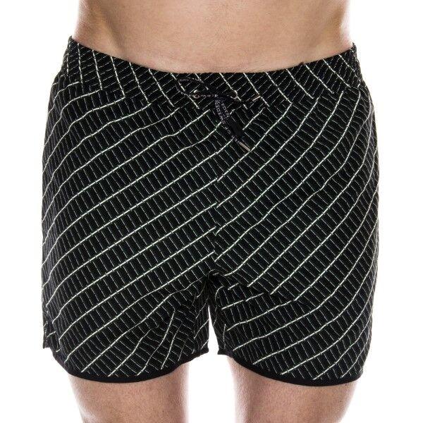 Tiger of Sweden Goole Swim Shorts - Black pattern-2 * Kampanja *