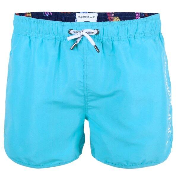 Muchachomalo Swim Solid Boardshort - Turquoise * Kampanja *