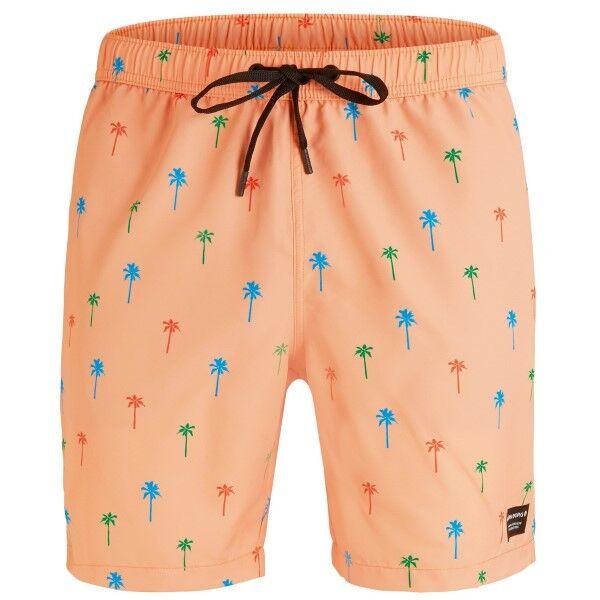 Björn Borg Swim Loose Shorts Mini Palm - Apricot * Kampanja *  - Size: 1821-1190 - Color: aprikoosi