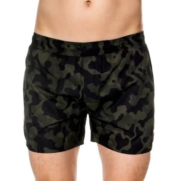 HUGO Grenada Swim Shorts - Camouflage-2
