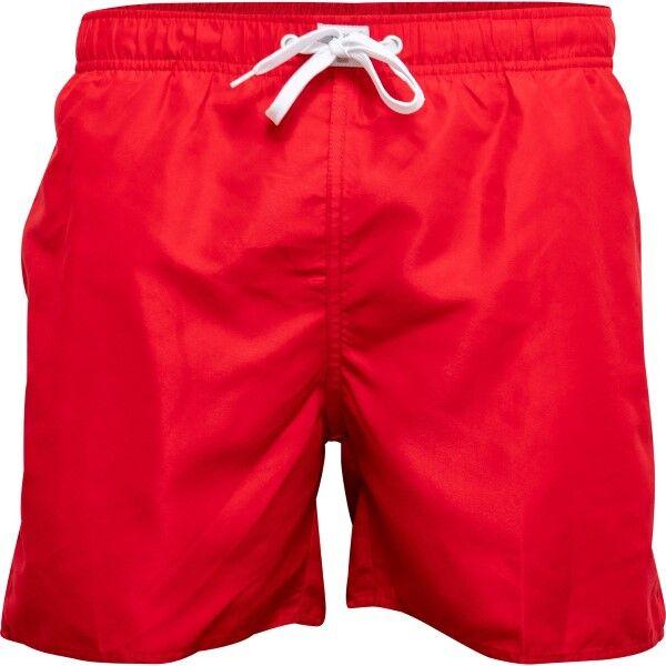 JBS Basic Swim Shorts - Red  - Size: 156-55 - Color: punainen