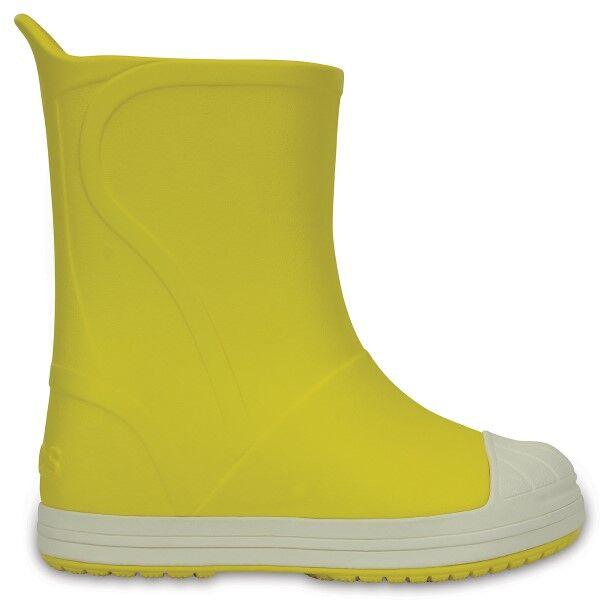 Crocs Kids Bump It Rain Boot - Yellow * Kampanja *  - Size: 203515 - Color: keltainen