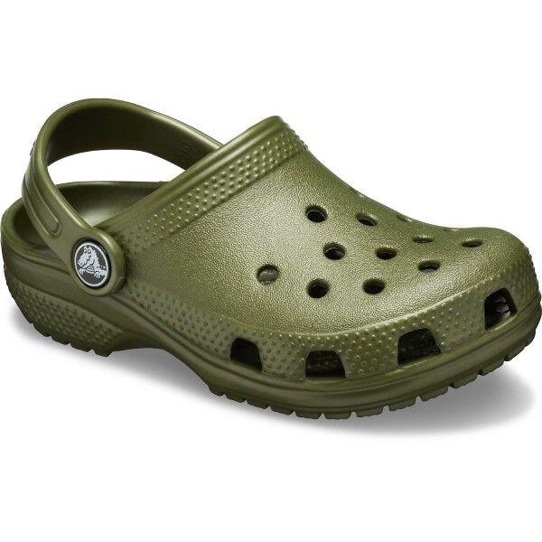 Crocs Classic Clog Kids - Militarygreen  - Size: 204536 - Color: armeijanvihr.