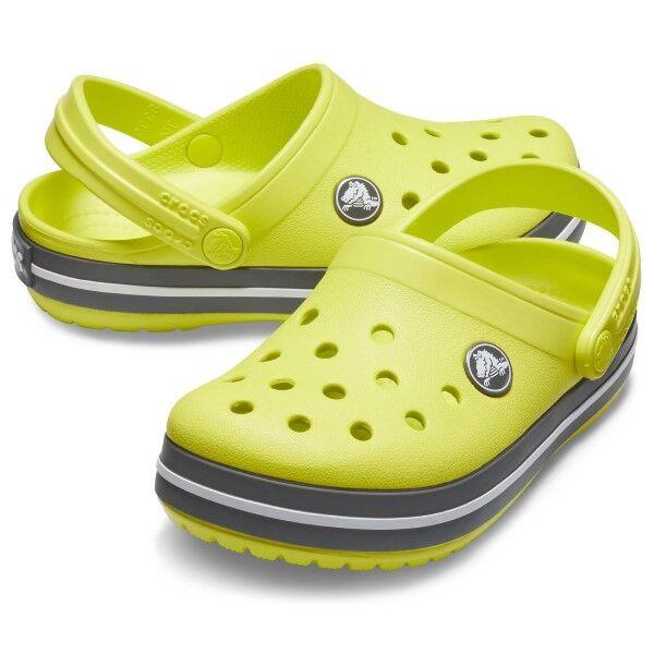 Crocs Crocband Clog Kids - Lemon  - Size: 204537 - Color: Sitruuna