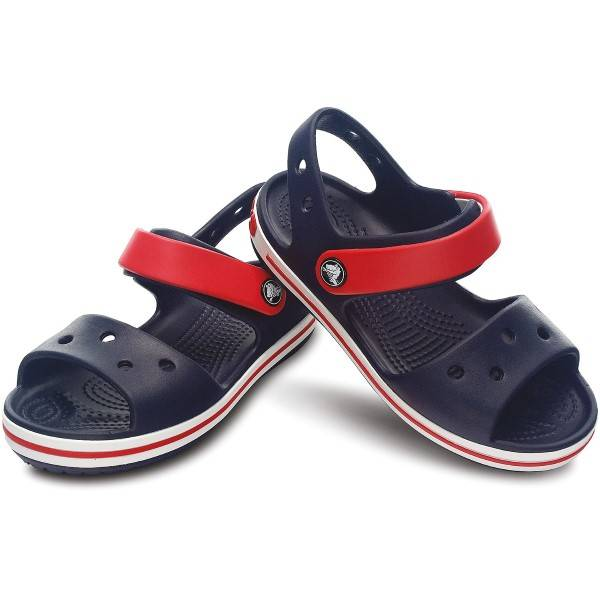 Crocs Crocband Sandal Kids - Navy-2  - Size: 12856 - Color: Merensininen