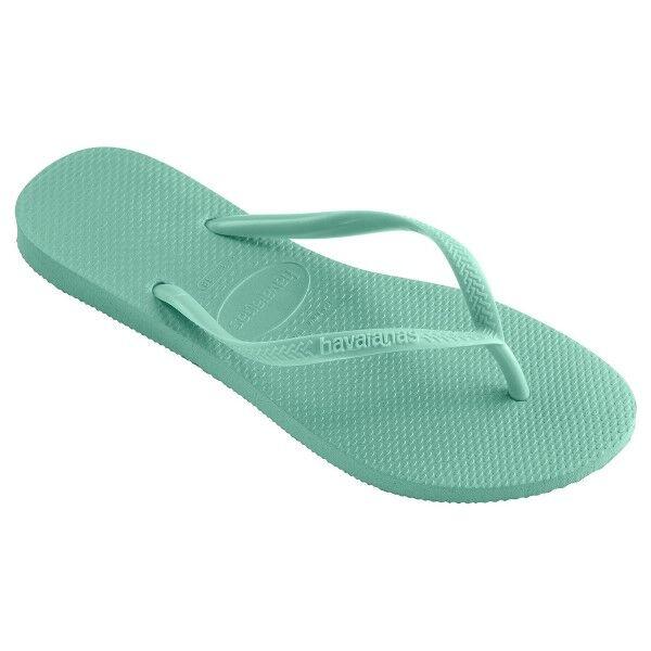 Havaianas Kids Slim - Turquoise  - Size: 4000030 - Color: Turkoosi