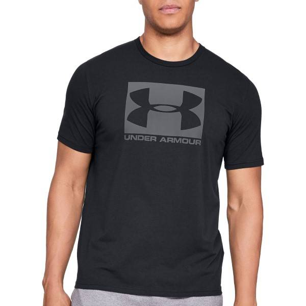 Under Armour Boxed Sportstyle Short Sleeve T-shirt - Black
