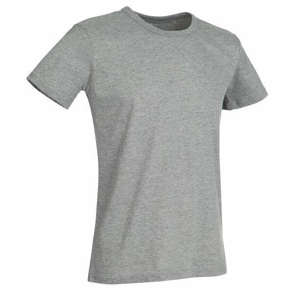 Stedman Ben (Crew Neck) For Men - Grey  - Size: ST9000 - Color: harmaa